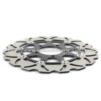 China Aluminum Motorcycle Brake Disc Rotor Brake Kawasaki Z 1000 ZX10R CNC Milling on sale