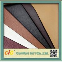 1.37m Width Synthetic PU Leather Fabric , Fake Leather Material For Sofa / Backpack