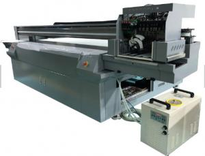 China Indoor Digital UV Flatbed Printer 3D Wallpaper Mural Printer 2500mm * 1300mm Printing Size on sale