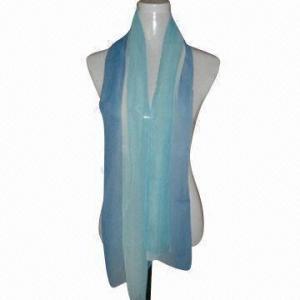 China 100%のポリエステル シフォンから成っている流行の印刷されたスカーフはODMおよびOEM順序歓迎されています on sale