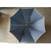China Flip Proof Personalized Golf Umbrellas , Outdoors Large Heavy Duty Rain Umbrella on sale