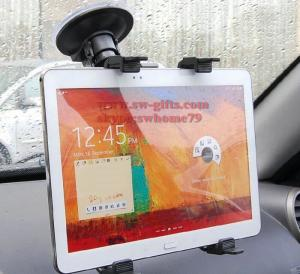 China Hot Sale 7-10 inch Tablet PC Universal Car Windshield Suction Mount Holder Stand For iPad Rotary,Cleanable base disc on sale