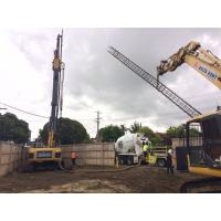 13m Depth Engineering Construction CFA Piling Rig With Hydraulic Rotary Drill Head