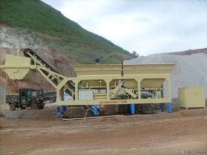 China Mobile Stabilized Soil Mixing Plant on sale