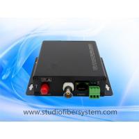 Outdoor RS485 data Ethernet HDCVI to fiber converter for PTZ data&1ch 10/100M ethernet&1CH720P 1080P CVI over fiber 20KM