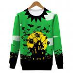 Halloween style mens printing sweatshirt
