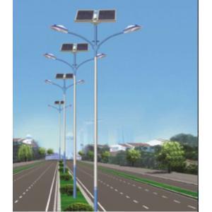 China 2 Heads 15 Watt Energy Efficient Street Lighting Led Solar Street Lighting on sale