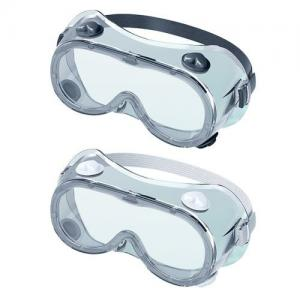 China Clear Frame Medical Safety Goggles Surgery Safety Glasses PC PVC on sale