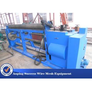China Hot Dipped Hexagonal Wire Netting Machine With Low Carbon Steel Wire 38 Mesh / Min on sale