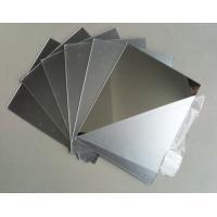 Mirror Finish Aluminium Flat Sheet  , Alloy 1060 Reflective Aluminum Sheet
