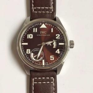 China IWC Pilot's Series IW320104 Power Reserve Display Automatic Watch on sale