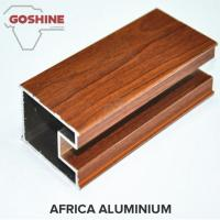Third - Dimension Wood Finish Aluminium Profiles Solid Substantial