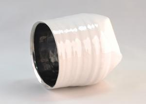 Quality White Ceramic Candle Holder for sale