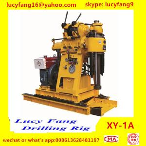 China China Made Cheapest Popular Portable Soil Testing Drilling Rig XY-1A with SPT Equipment on sale