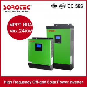 China DC AC Solar System Inverter / Grid Tie Solar Inverter for Living House / Home Building on sale