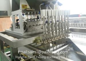 China Stainless Steel Automatic Linear Filling Machine With AC Servo Motor 100 - 500ml on sale