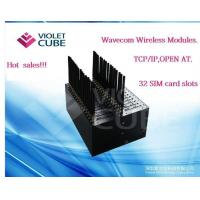 32 port gsm modem pool support open AT TCP/IP protocol