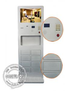China Cell Phone Charging Kiosk Digital Signage Touch Screen , Totem Digital Signage on sale