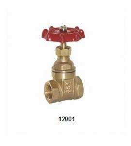 China Forged Brass gate valve 12001 and 12002 full size in 20 Bar on sale