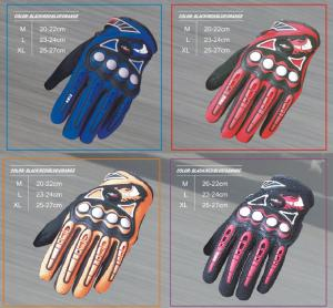 China Non - Slip Electric Motorcycle Parts Waterproof Leather Motorcycle Gloves on sale