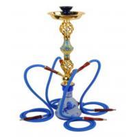 Teapot Hookah with LED Shisha Accessories Electronic Cigarette Cloisonne Hookah