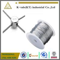 Stainless Steel Wire rope For Stainless steel wire rope cross clamp
