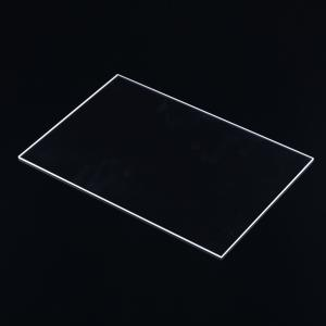 China High quality thick clear fused silica quartz thin glass plates sheet on sale