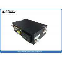 Military Digital Video Transmitter COFDM Wireless Surveillance Sender with RS485 / RS232