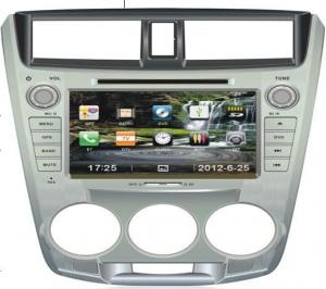 China Radio HONDA CITY Automobile DVD Players Touch Screen with SD Card on sale