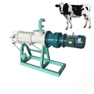 China Compact Livestock Poultry Manure Drying Machine Solid Liquid Separator on sale