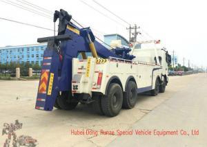 China Beiben Heavy Duty Rotator Wrecker Tow Truck , 30-40 Ton Heavy Wrecker Trucks on sale