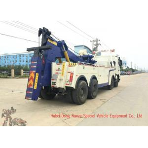 China Beiben Heavy Duty Rotator Wrecker Tow Truck , 30-40 Ton Heavy Wrecker Trucks on sale