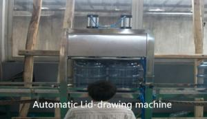 China Auto Barrel Water Bottling Machine , 3.8KW Mineral Water Bottling Plant Equipment on sale