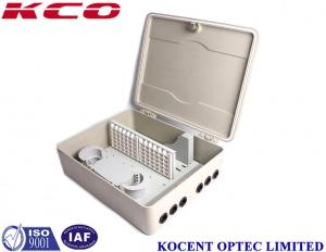 China 72 Ports SMC Fiber Optic Terminal Box , Outdoor Wall Pole Mount Ftth Distribution Box Cross Cabinet on sale