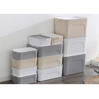 different size pp plastic storage box with lid plastic box for household storage