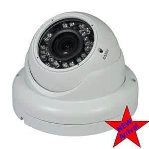 China Professional with 30m night vision distance 600TVL white sony hd color ccd china dome camera    on sale
