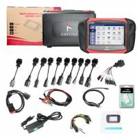 CAR FANS C800 Diesel & Gasoline Vehicle Diagnostic Tool for Commercial Vehicle, Passenger Car, Machinery with Special Fu