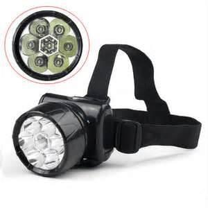 China High power 3 watt 75LM IP66 rechargeable led headlamps for night fishing, flying on sale