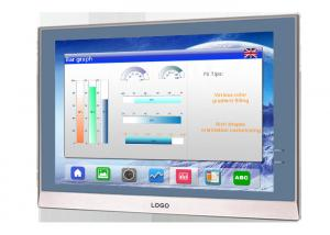 China 10.4 Inch TFT LCD Monitor Screen , High Brightness Industrial Touch Screen on sale