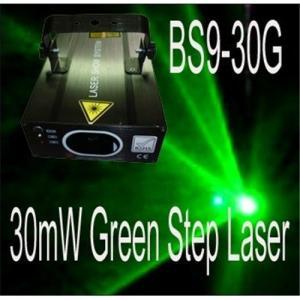 China 30mW Green Stepping Motor Laser Disco Lights stage light show Ilda light on sale