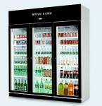 Green&Health glass door cold drinks bottle Pepsi beverage display cooler for sale