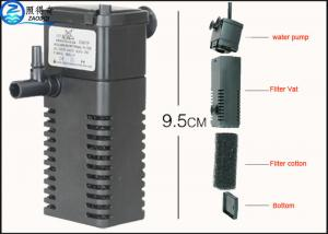 China Home Fish Tank Water Filter / Aquarium Fish Filters 220V - 240V Fish Tank Equipment on sale
