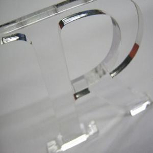 China Clear Acrylic Display Letters , Custom Logo For For Counter Display on sale