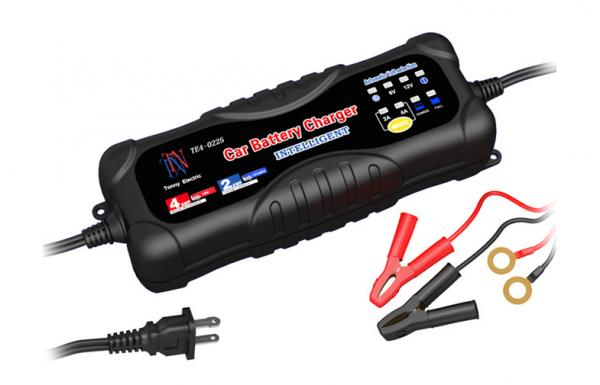 Portable Car Battery Chargers 6 Volt 12 2a 4a Plug In Images