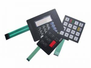 China Polyester tactile membrane switch on sale