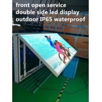 Front Open Digital Led Billboard , Outdoor Programmable Led Signs