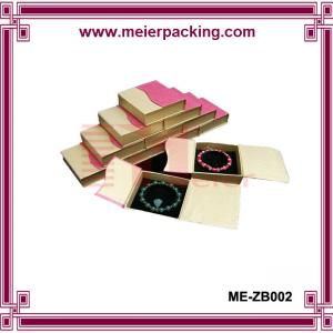 China Jewelry carton box/Popular magnetic closure bracelet paper box ME-ZB002 on sale