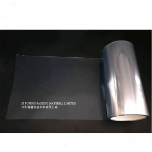 China Deep Molding PET Protective Film Clear For Buliding / Industry Barrier Material on sale