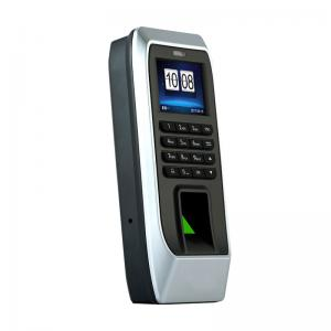 China 2.4 TFT Screen Free Software 125khz Standalone TCP/IP Fingerprint Access Control on sale