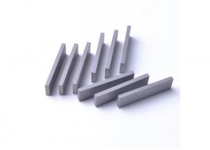 China Raw Pure Material K10 Tungsten Carbide Strips / Cemented Carbide Strips And Plates on sale